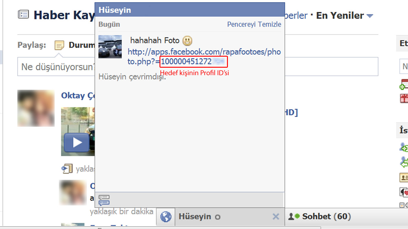 Facebook Virüsü | Roboyt.Com